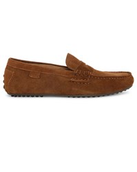 Polo Ralph Lauren Tobacco Wes Suede Slip On