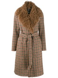 Simonetta Ravizza Papavero Coat Brown