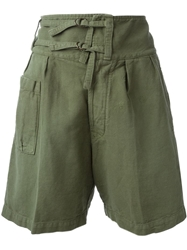 People People Military Shorts