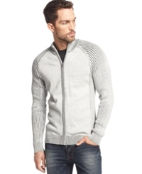 Inc International Concepts Gee Thanks Full Zip Sweater