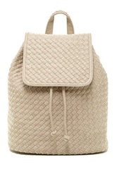 Urban Expressions Hadley Woven Backpack Gray