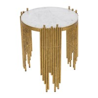 Amara Spike Marble Side Table