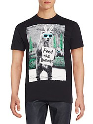 Riot Society Feed The Bunnies Graphic Tee Black