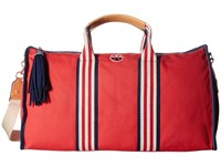 Tory Burch Embroidered T Weekender Cherry Apple Weekender Overnight Luggage