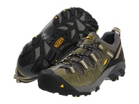 Keen Utility Detroit Low Esd Soft Toe Black Green Men's Work Boots Olive