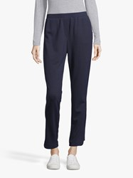 Betty And Co. Jersey Trousers Dark Sapphire