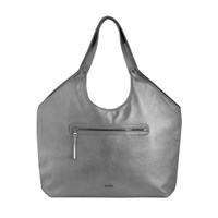 Jlew Bags Graphite Welterweight Triangle Top Tote Silver