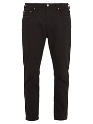 Acne Studios River Mid Rise Tapered Leg Jeans Black