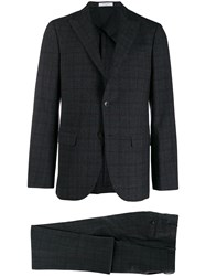 Boglioli Tailored Checked Two Piece Suit 60