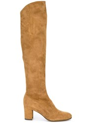 L'autre Chose Over The Knee Boots Brown