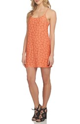 1.State Women's Racerback Shift Dress Coral Gem