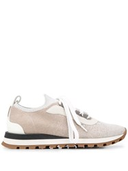 Brunello Cucinelli Ball Chain Detail Sneakers 60