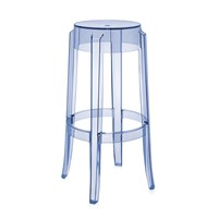 Kartell Charles Ghost Stool 75Cm Light Blue