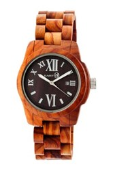 Earth Wood Unisex Heartwood Watch Beige