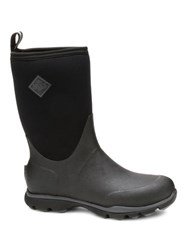 Muck Boots Arctic Excursion Mid Rain Black