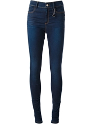 Cnc Costume National Costume National High Waisted Skinny Jeans Blue