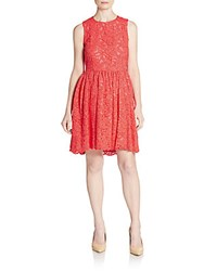 Kate Spade Lace Hi Lo Dress Geranium
