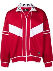 Converse Classic Track Jacket Red