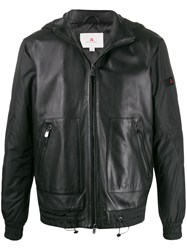 Peuterey Hooded Leather Jacket 60