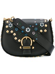 Marc Jacobs Studded Navigator Saddle Bag Black
