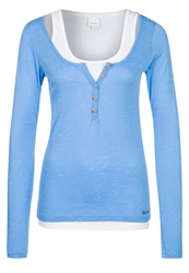 Bench Jaylol Long Sleeved Top Azure Blue