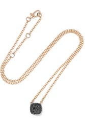 Pomellato Nudo 18 Karat Rose Gold Diamond Necklace