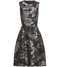 Dolce And Gabbana Metallic Jacquard Dress Multicoloured
