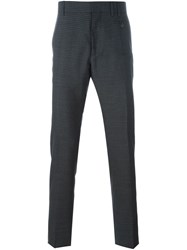 Vivienne Westwood Striped Tailored Trousers Grey
