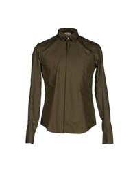 Wooyoungmi Shirts Shirts Men Military Green