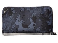 Pacsafe Rfidsafe V200 Anti Theft Rfid Blocking Travel Organizer Grey Camo Wallet Multi
