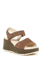 Born Lucee Washed Hook And Loop Sandal Gray