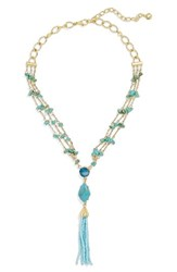 Baublebar Women's Marija Beaded Tassel Y Necklace