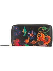 Paul Smith Printed Wallet Black