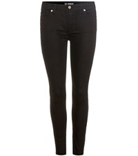 7 For All Mankind The Skinny Crop Jeans Black