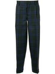 Kolor Checked Pattern Trousers 60