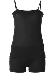 Toga Fitted Short And Cami Set Black