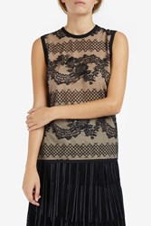 Elie Saab Women S Lace Tank Top Boutique1 Black