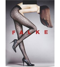 Falke Dolphin Sheer Patterned Tights 3009 Black