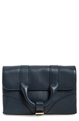 Jason Wu 'Hanne' Leather Clutch Navy