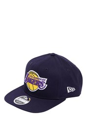 New Era 9Fifty La Lakers Costal Heat Hat Blue