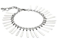 Lucky Brand Flex Feather Bracelet Silver Bracelet