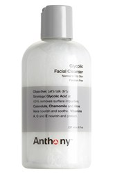 Anthony Logistics For Men Tm Glycolic Facial Cleanser No Color