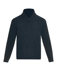 Massimo Alba Dover Shawl Neck Knitted Sweater