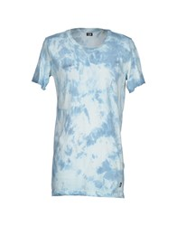 Lgb L.G.B. Topwear T Shirts Men Sky Blue