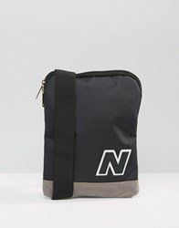 New Balance 420 Flight Bag In Black Blue