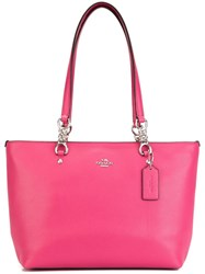 Coach 'Dahlia' Tote Pink And Purple