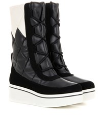 Stella Mccartney Binx Faux Leather Boots Black