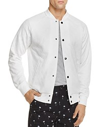 Sovereign Code Princeton Quilted Bomber Jacket White