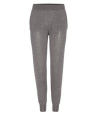 Stella Mccartney Virgin Wool Track Pants Grey