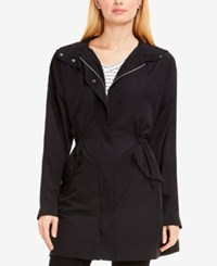 Vince Camuto Two By Hooded Utility Jacket Rich Black